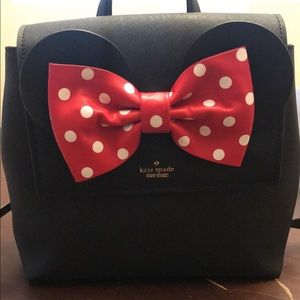 Kate Spade mini mouse purse